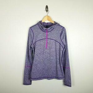 Zella Pullover 1/2 Zip Hooded Jacket Activewear